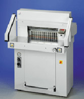 Paper Cutters  - MBM 5551-EP 21 1/2 inch Hydraulic Fully Automatic   Stack Cutter