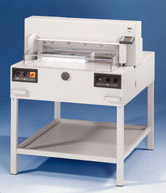 Paper Cutters  - MBM 6550  25 1/2 inch Fully Automatic   Stack Cutter